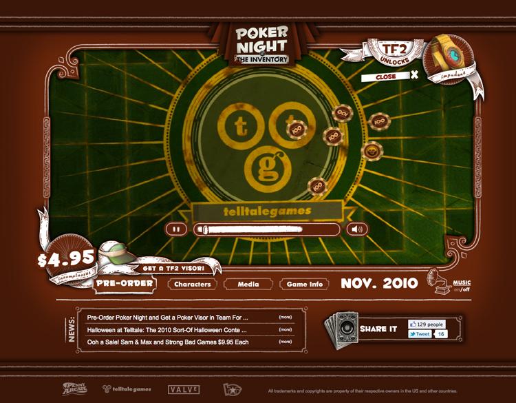 Virtual poker sites